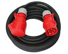 CEE Starkstromkabel 32A H07RN-F 5x6mm² Verlängerungskabel 5/10/15/20/25m PCE