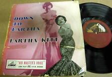 """EARTHA KITT Down to Eartha 10"""" LP His Master's Voice"""
