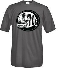 T-Shirt girocollo manica corta Vintage Roma criminale Z05 70's life style