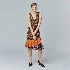 WAREHOUSE Floral Frill Hem Dress 6/8 RRP £59