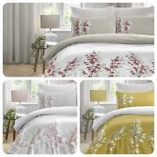 Dreams & Drapes ORIENTAL FLOWER Orchid Easy Care Duvet Cover Set