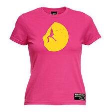 Rock Arrampicata Tramonto Da Donna Adrenalina Addict T-shirt Tee Regalo Di Compleanno SALITA