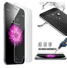 Vidrio templado genuino Claro Protector iPhone Móviles 5/5S/SE/6/6S/7 - Paquete de 2