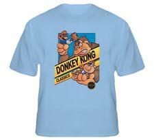 Donkey Kong Mario Retro NES Video Game T Shirt