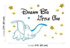 Dumbo Disney Elefante Infantil Niños Guardería Bebés