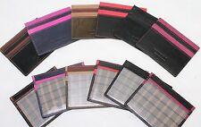 Golunski Viaje de Cuero Suave, identificaciones y titular de la tarjeta de crédito billetera * 7 Colores