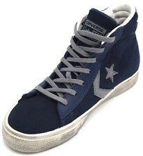 Scarpe da uomo blu Converse in camoscio | Acquisti Online su