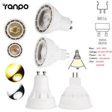 Dimmable MR16 GU10 LED Bulb COB Spotlight Lamp 6W 9W AC 80-260V Cool Warm White