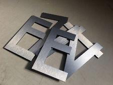Aluminium Letters Custom Made Any Font