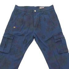 0395G pantaloni blu DANIELE ALESSANDRINI DENIM BLUE LABEL jeans uomo