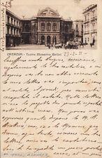 #CATANIA: TEATRO MASSIMO BELLINI - 1921
