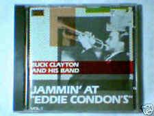 BUCK CLAYTON Jammin' at eddie condon's vol. 1 cd