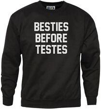Besties Before Testes Mens Sweatshirt