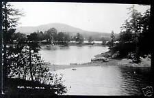 Blue Hill Maine ~ 1940's Lake View ~ Rppc