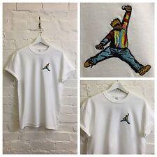 Actual Fact Biggie Jordan Slam Dunk Embroidered Hip Hop Supreme Tee T-Shirt