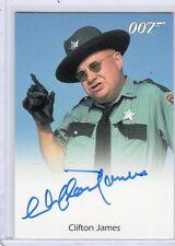 James Bond 50th Annivrsary Clifton James autographed card