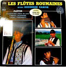 GHEORGHE ZAMFIR flutes roumaines LP cimpoi/ocarina VG++