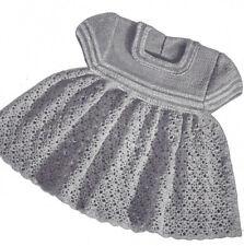 Vintage Crochet PATTERN to make Fancy Toddler Dress Thread Lace CutieToddler