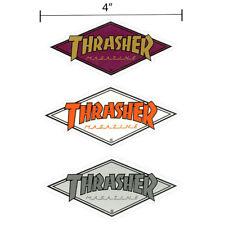 Thrasher Magazine Diamond Logo Sticker Small Skateboard Decal 3 Colors Available