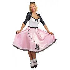 Poodle Dress 1950s Costume Adult Halloween Fancy Dress