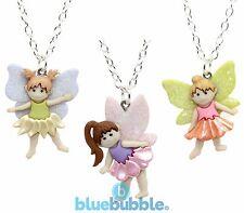 Bluebubble creo Brillo Cuento De Hadas Dulce ángel De La Suerte Collar Vestido de fantasía
