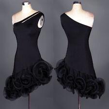 Latin Dance Dress Tango Salsa Costume Ballroom Competition Group Dress L31