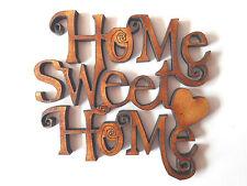 En bois home sweet home formes cadeau carte artisanat embellissement tag rendre scrapbook