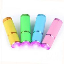 Led Nail Dryer Curing Flashlight Lamp Torch Light For Uv Gel Nail Polish Kw