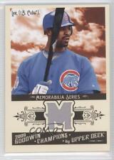 2009 Upper Deck Goodwin Champions Memorabilia #GCM-DL Derrek Lee Chicago Cubs
