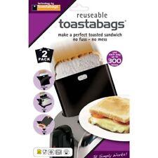 Toastabags Riutilizzabile Lavabile In Lavastoviglie Tostapane Tostato Toast