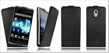 Akira Sony Xperia T Handgemachte Echtleder Schutzhülle Flip Case Wallet Cover
