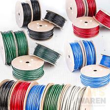 3-10mm STAHLSEIL PVC SET: 2 Kauschen 4 Klemmen Seil Seile Drahtseil ummantelt