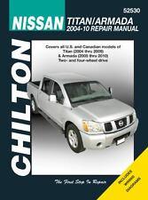 2004-2009 Chilton Nissan Titan & 2005-2010 Armada Repair Manual