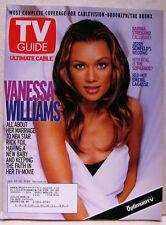Large TV GUIDE January Jan 22-27 2000 Vanessa Williams-Steinfeld-Emeril Lagasse