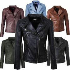 doppelter gutschein hübsch und bunt neueste art Maze Lederjacke Damen günstig kaufen | eBay