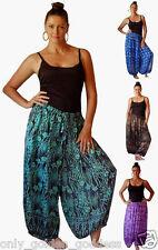 pick color & size wide leg pants batik rayon lagenlook M L XL 1X 2X 3X 4X 5X 6X