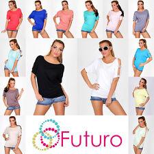 Impresionante Y Elegante Blusa Con Circones Camisetas Manga Abierta 8-12 8038