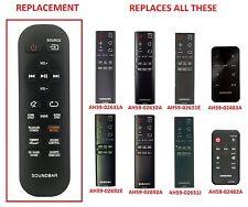 Replacement Remote Control for Samsung Soundbars for   HW-H   HW-J   DA-E Series