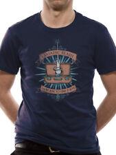FANTASTIC BEASTS Baguette Magique Officiel Harry Potter Bleu Homme T-Shirt