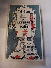 SOLDATI - LE LETTERE DA CAPRI - ED. CLUB. 1979