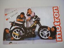 advertising Pubblicità 1988 MOTRON GL4 GL 4