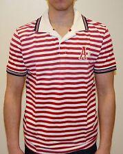 Scotch & Soda Herren Polo Shirt rot weiß gestreift  Größe wählbar 08010255592