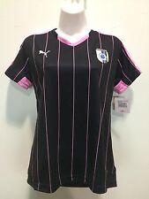 QUERETARO GALLOS BLANCOS black-pink woman jersey playera puma 2015-2016 proyect