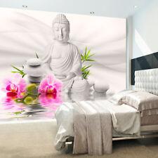 Huge wall mural photo wallpaper non-woven Buddha Flower Spa Zen b-A-0011-a-b