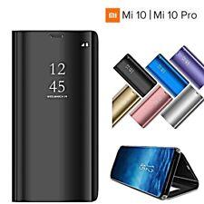 COVER per Xiaomi Mi 10 / Pro FLIP ORIGINALE MIRROR Case SLIM Clear Window View