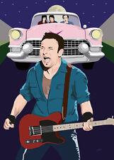 Bruce Springsteen - Light Of Day  - Original (signed) art print - Jarod Art