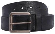 Mens Moustache Pattern Genuine Leather Pin Buckle Belts S-3XL