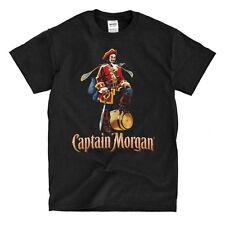 Captain Morgan Rum Black T-Shirt - Ships Fast! High Quality!