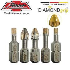 Athlet DIAMONDgrip-Bits SL0,6-1,2|PH1-3|PZ1-3|Torx 10-40|2,0-6,0mm - Diamant Bit
