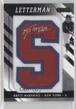 2008 Razor Letterman 20 #BEM-S Brett Marshall New York Yankees GCL Auto Card